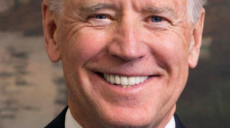 Official portrait of Vice President Joe Biden. Source: White House, Wikipedia Commons.