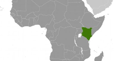 Location of Kenya. Source: CIA World Factbook.