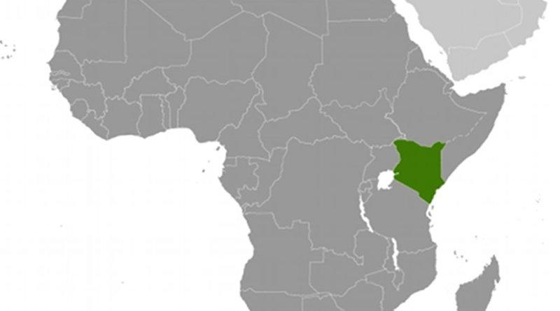 Location of Kenya. Source: CIA World Factbook.