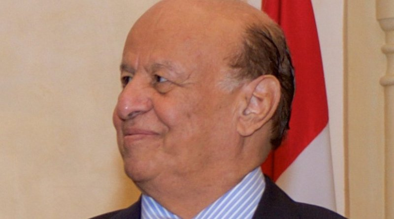 Yemen's Abdorabbo Mansour Hadi. Photo by Whidou, Wikipedia Commons.