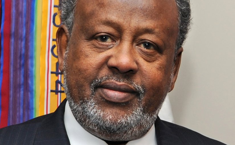 Djibouti's Ismaïl Omar Guelleh. Photo by Robert D. Ward, US Government, Wikipedia Commons.