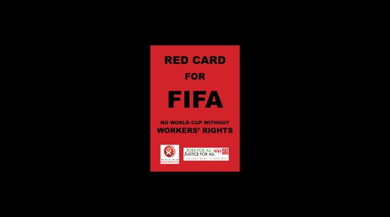 Red Card for Qatar.