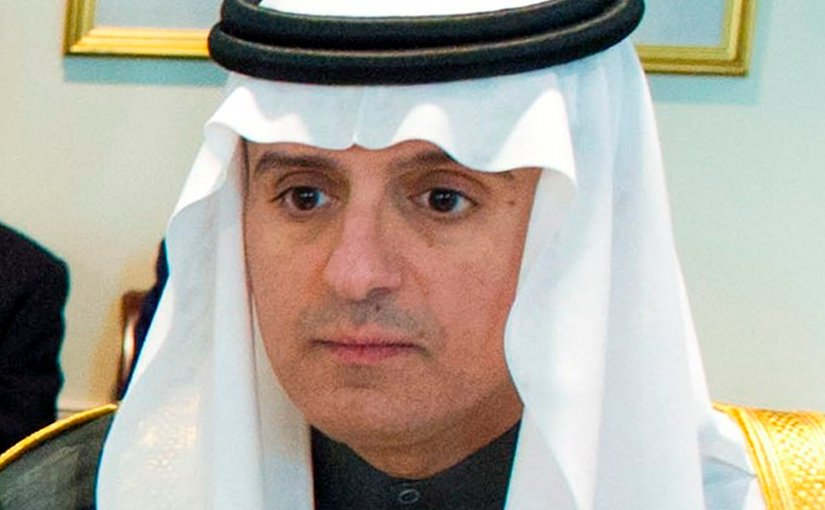 Saudi Arabia's Foreign Minister Adel Al-Jubeir. Photo by Erin A. Kirk-Cuomo, US DoD, Wikipedia Commons.