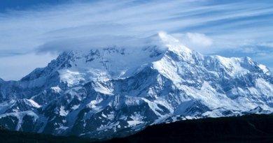 Mount Saint Elias, Alaska, US. Photo by David Sinson, NOAA, Office of Coast Survey, Wikipedia Commons.