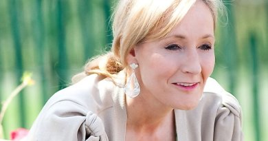 J.K. Rowling. Photo by Daniel Ogren, Wikipedia Commons.