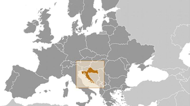 Location of Croatia. Source: CIA World Factbook.