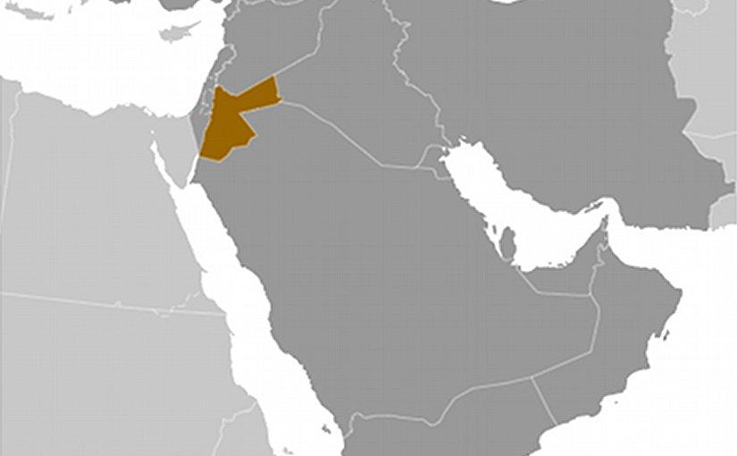 Location of Jordan. Source: CIA World Factbook.