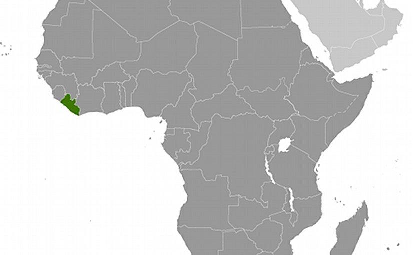 Location of Liberia. Source: CIA World Factbook.
