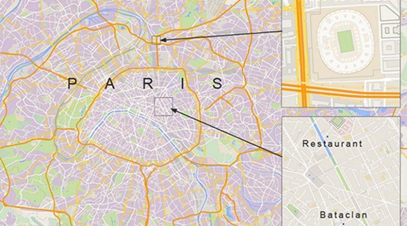 Paris November 13, 2015 terror attacks. Source: VOA
