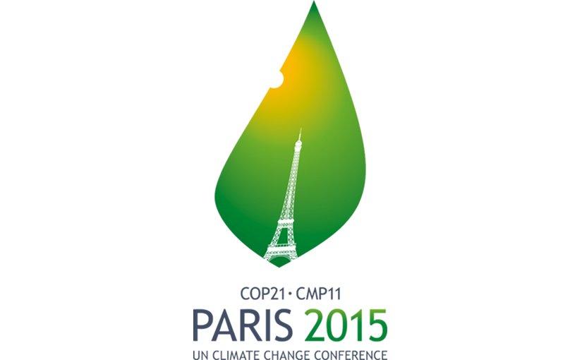 Logo of COP21 Paris Climate Change Conference.