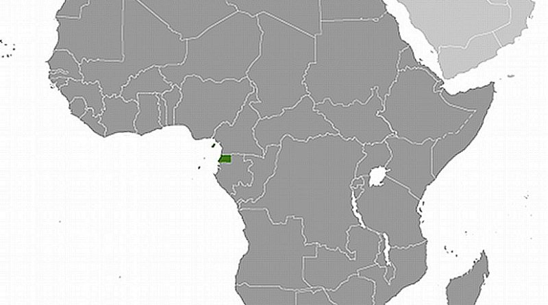 Location of Equatorial Guinea. Source: CIA World Factbook.