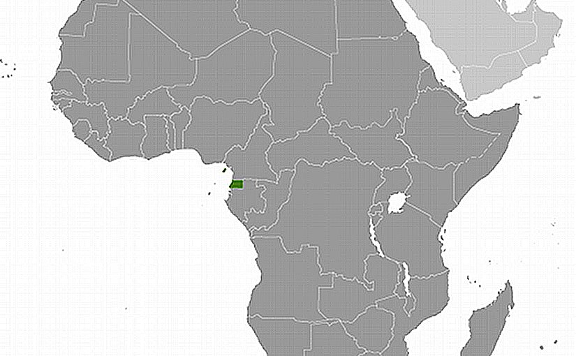 Location of Equatorial Guinea. Source: CIA World Factbook.
