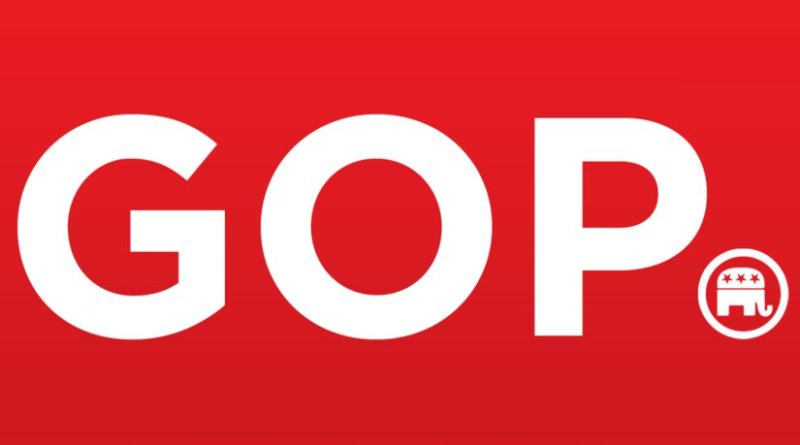 Logo of the Republican Party (GOP) of the United States of America.
