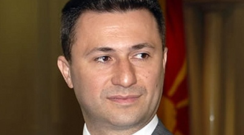 Macedonia's Nikola Gruevski. Photo by Ристе Павлоски, Wikipedia Commons.