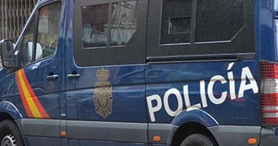 Van of Spain's National Police Force. Source: Ministerio del Interior