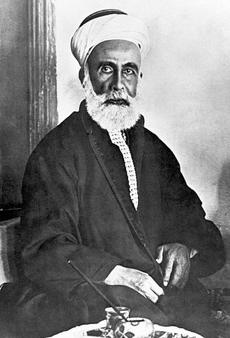 Sharif Hussein, the then Governor of Mecca