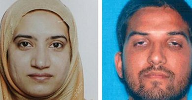 California killers Tashfeen Malik, left, and Syed Farook. (FBI)