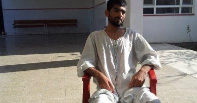 Khalid Ahmad recuperating in Kabul
