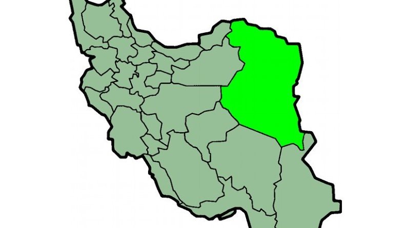 Location of Khorasan Province in Iran. Source: Wikipedia Commons.