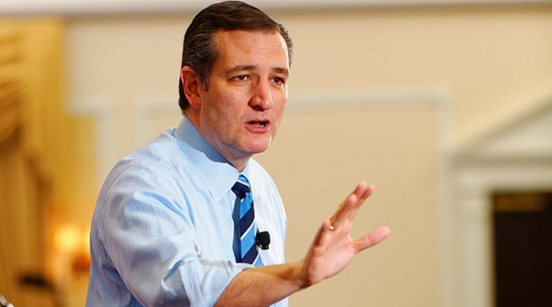 Ted Cruz. Photo by Michael Vadon, Wikipedia Commons.