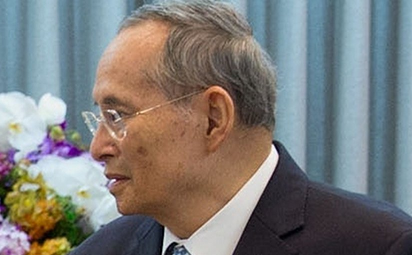 Thailand's King Bhumibol Adulyadej. Photo Wikipedia Commons.