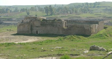 Saint Elijah's Monastery, Mosul, Iraq - the oldest Christian monastery in Iraq as it appeared in 2005. Photo Credit: Doug via Wikimedia Commons