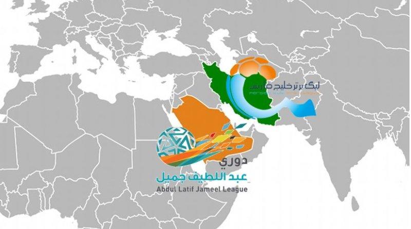 Iran and Saudi Arabia football leagues.