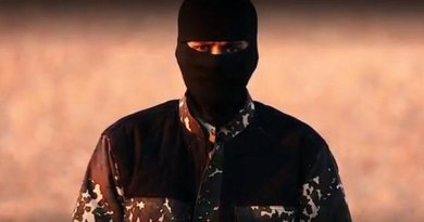 Man in Islamic State video who some claim is Siddhartha Dhar.