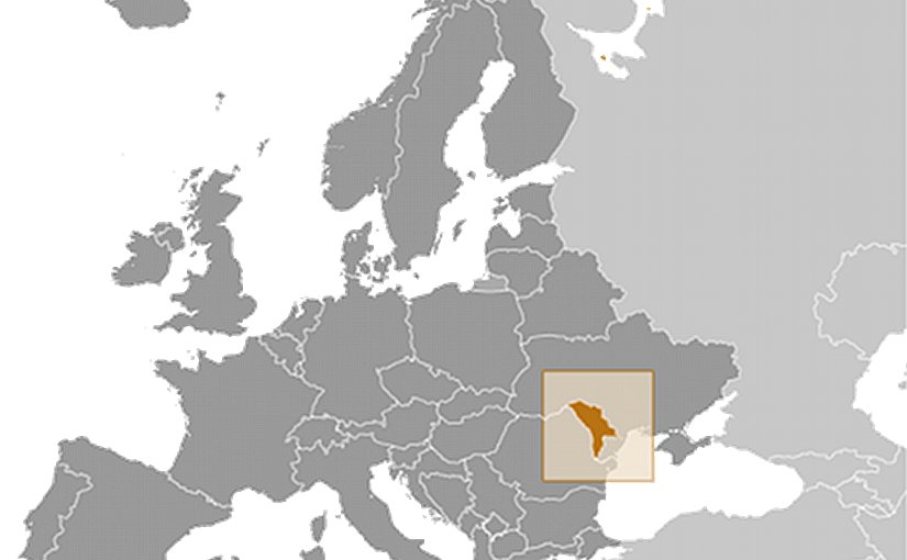 Location of Moldova. Source: CIA World Factbook.