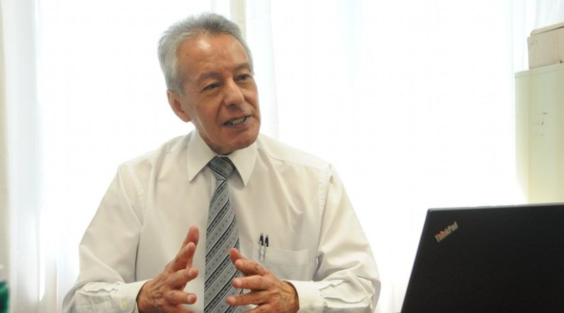 Doctor in Chemical Engineering Rodolfo Mora, project leader