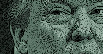 Donald Trump as Lex Luther Comic