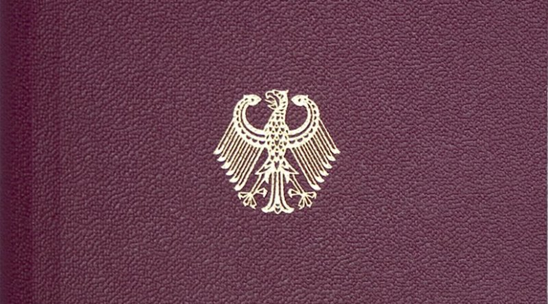 Detail on German passport