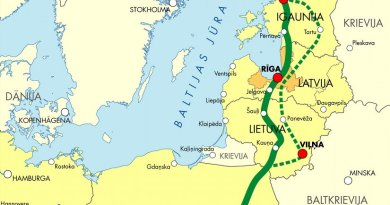 Rail Baltica Project. Credit: Ministry of Transport and Communication of the Republic of Latvia, Wikipedia Commons.
