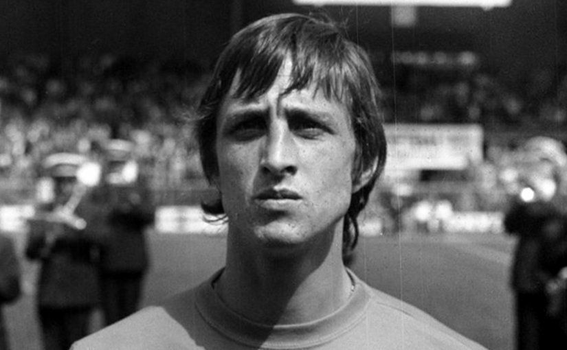 c1cb0cefb Soccer legend Johan Cruyff with the Netherlands in 1974. Source  Nationaal  Archief