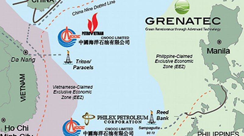 wo Joint Development Areas — one lying between North Vietnam and the Paracel Islands and the other off northern Philippine Palawan — could provide a template for other joint development projects between China and her southern neighbors in the South China Sea. Source: Grenatec.