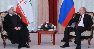 Iran;s President Hassan Rohani meeting with Russia's President Vladimir Putin. Photo Credit: Kremlin.ru, Wikipedia Commons.