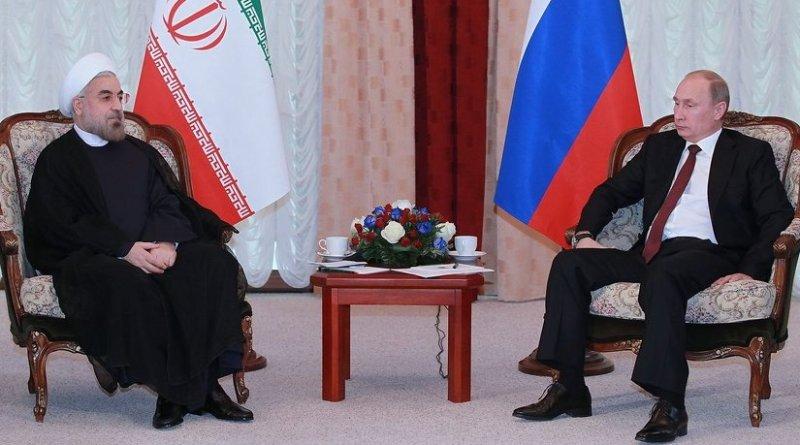 Iran;s President Hassan Rohani meeting with Russia's President Vladimir Putin. Photo Credit: Kremlin.ru, Wikipedia Commons.