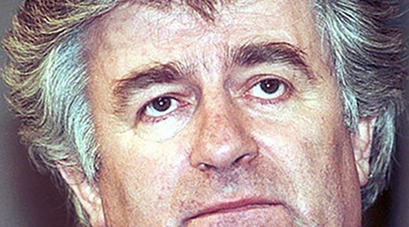 Radovan Karadzic, 1st President of Republika Srpska. Photo by Mikhail Evstafiev, Wikipedia Commons.