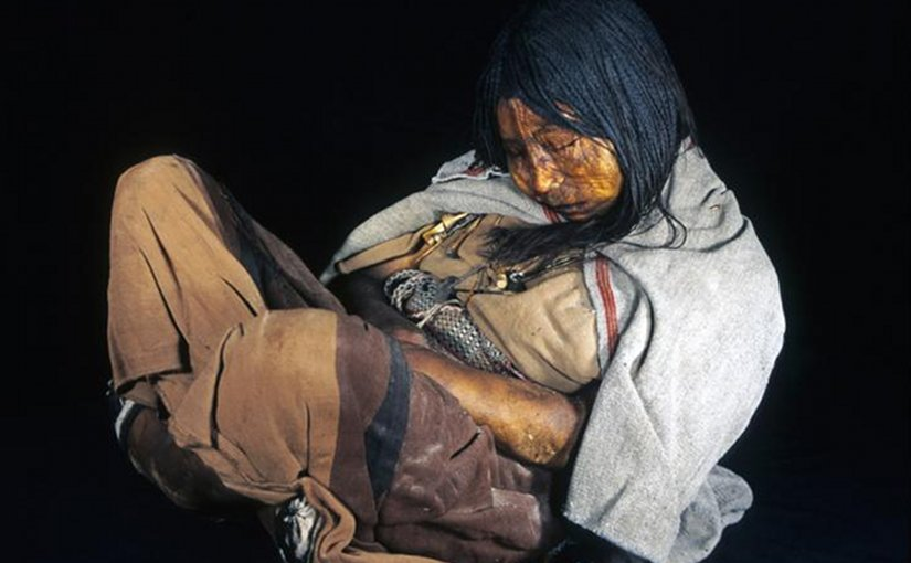 Llull Maiden: DNA of The Doncela (The Maiden) Incan mummy found at Mount Llullaillaco, Argentina, in 1999, was used in the study. Credit: Johan Reinhard