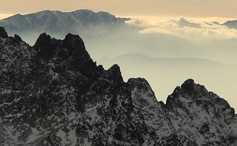 View of the Alps.