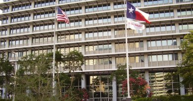 ExxonMobil offices. Photo by WhisperToMe, Wikipedia Commons.