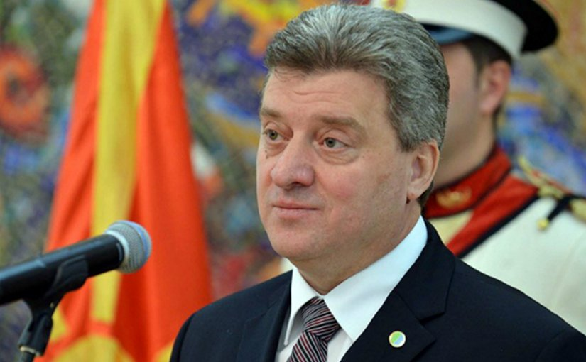 Macedonia's President Gjorge Ivanov | Photo Credit: president.gov.mk
