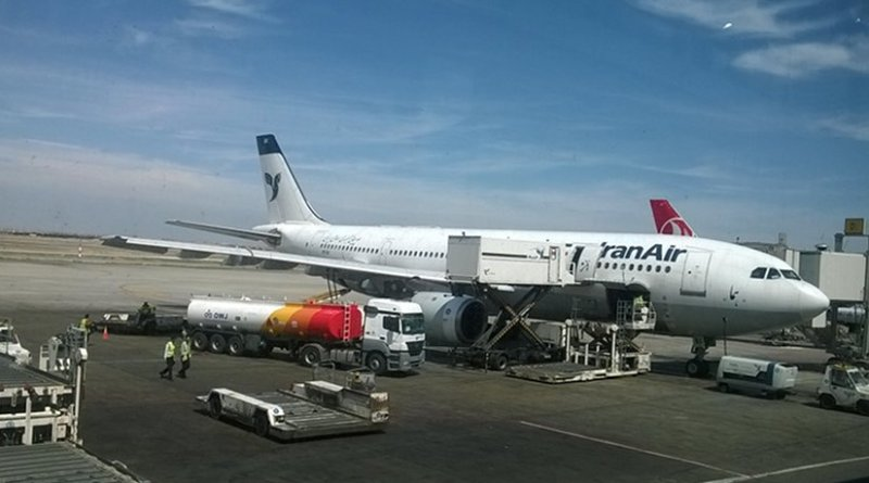 Iran Air Airbus. Photo by Iranairlover, Wikipedia Commons.