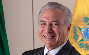 Brazil's Michel Temer. Photo by Licurgo Miranda, Wikipedia Commons.