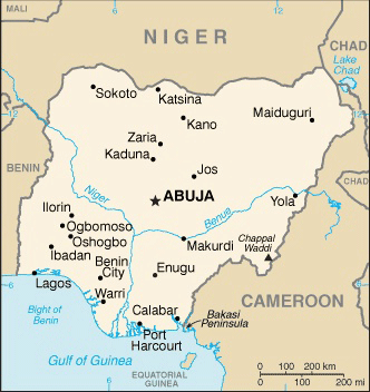 Map Of Nigeria Source U S Department Of State