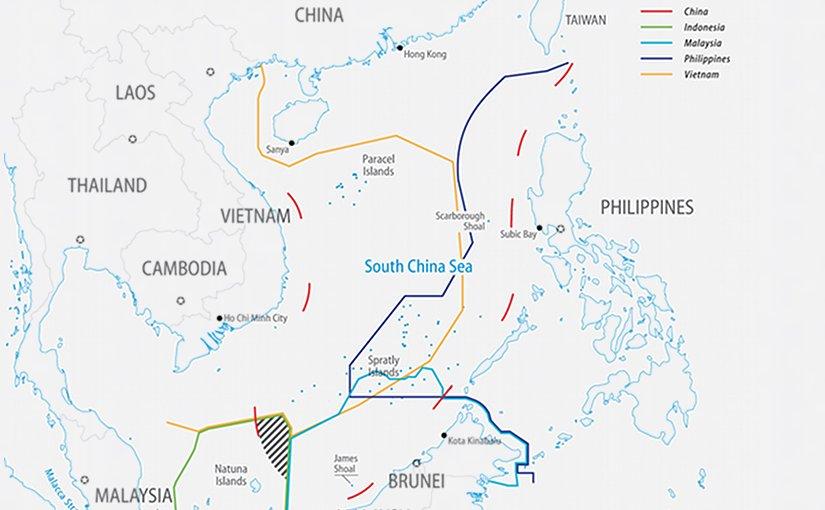 South China Sea Claims. Source: FPRI