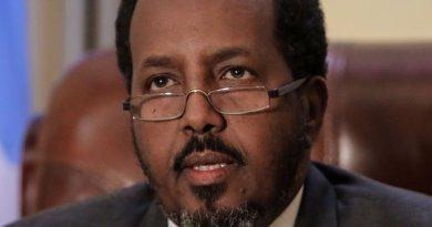 Somalia's President Hassan Sheikh Mohamud. Photo Credit: AMISOM Public Information, Stuart Price, Wikipedia Commons.
