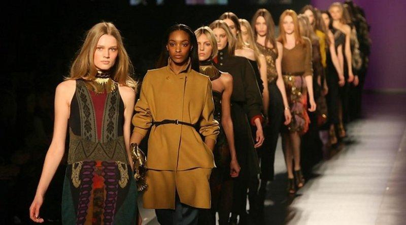 Fashion models on the catwalk. Photo credit: Noura Alswailem