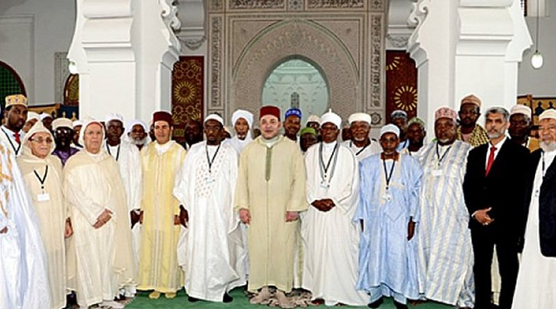 Morocco's King Mohammed VI chairs installation ceremony of the Higher Council of the recently set up Mohammed VI Foundation for African Islamic scholars.