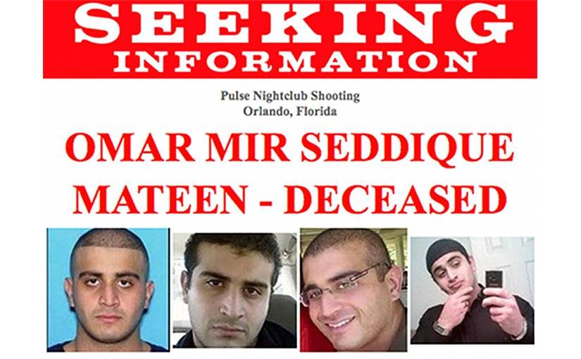 Omar Mir Seddique Mateen, deceased, is believed to be responsible for the shootings at the Pulse nightclub in Orlando, Florida, in the early morning hours of June 12, 2016. The FBI is asking for the public's assistance with any information regarding Mateen.